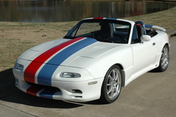 John M. Hoyt's 1991 Mazda Miata after restoration
