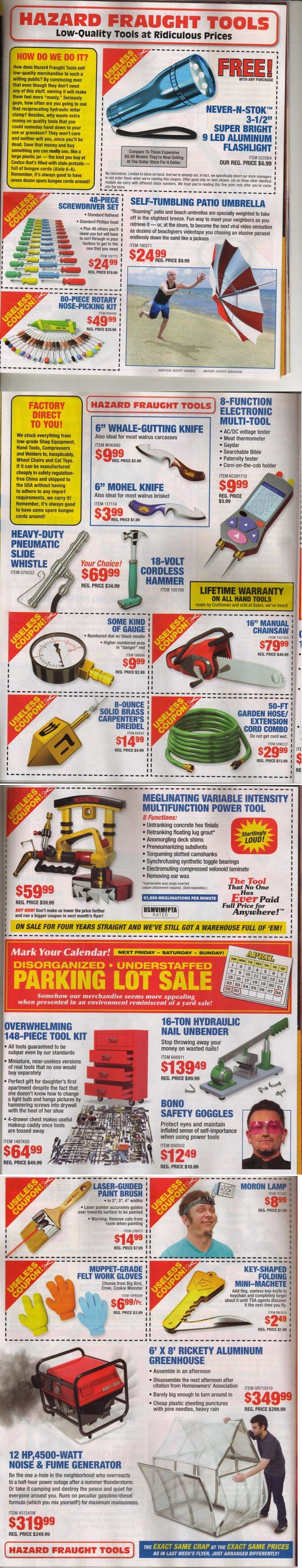 Harbor Freight Spoof